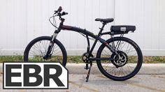 ProdecoTech Phantom X2 Video Review - Full Sized Folding Electric Bike