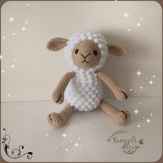 Amigurumi related to each other, we continue to share with each other. In this article amigurumi sheep free crochet pattern is waiting for you. Crochet Sheep Free Pattern, Crochet Amigurumi Free Patterns, Crochet Patterns Amigurumi, Free Crochet, Champignon Crochet, Rag Doll Tutorial, Beginner Crochet Tutorial, Cute Sheep, Easter Crochet