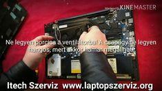 Laptop tisztítás csak most 6500Ft, újra pasztázás karbantartás portalaní...