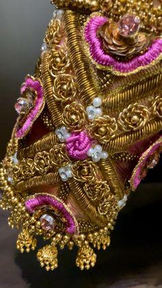 Wedding Saree Blouse Designs, Simple Blouse Designs, Silk Saree Blouse Designs, Blouse Neck Designs, Hand Embroidery Design Patterns, Designer Blouse Patterns, Hand Work Blouse Design, Zardosi Work Blouse, Blouses