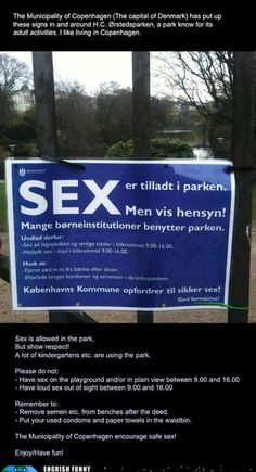 sex in the park