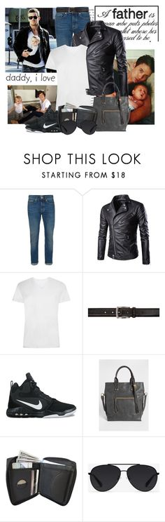 """Happy Father's Day!"" by sophia561 ❤ liked on Polyvore featuring Topman, Tiger of Sweden, NIKE, maurices, Bally, men's fashion and menswear"