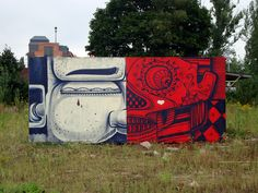 THOUGHTS OUTSIDE THE BOX (Poland,Lodz) by By How and Nosm.