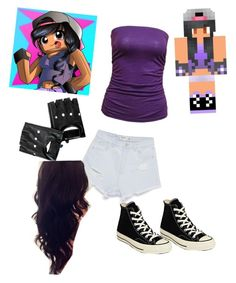 """Aphmau inspired (Might Delete"" by ritafoma ❤ liked on Polyvore"