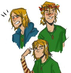 Many faces of Magnus Chase
