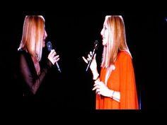 "Barbra Streisand Live in Israel - ""Smile"" (with Roslyn Kind) - YouTube"