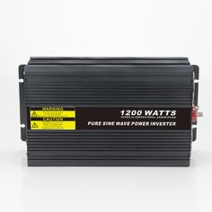 108.95$  Watch now - http://aliwra.worldwells.pw/go.php?t=32791333269 - Real power 1200W Car Power Inverter Converter DC 48V to AC 110V or 220V Pure Sine Wave Peak 2400W Power Solar inverters