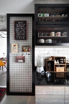 One style that currently trending in home decor is industrial style. Industrial style decor shows something edgy, sometimes with chic touch. Industrial Interior Design, Vintage Industrial Furniture, Industrial House, Industrial Style, Kitchen Industrial, Industrial Lighting, Modern Lighting, Lighting Ideas, Industrial Office