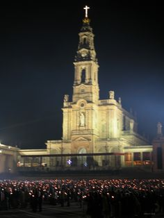 Basilica of Our Lady of the Rosary. Shrine of Our Lady of Fatima, Portugal