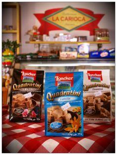Productos Importados - Quadratini de Vainilla, Chocolate, Turamisu ☼ La Carioca Delicatessen Gourmet #Villadeleyva ☼