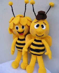 New Amigurumi Ideas. All Beautiful And Cute - Page 7 of 23 - Best Amigurumi Crochet Bee, Crochet Amigurumi, Amigurumi Doll, Crochet Crafts, Crochet Dolls, Crochet Projects, Crochet Toys Patterns, Amigurumi Patterns, Stuffed Toys Patterns