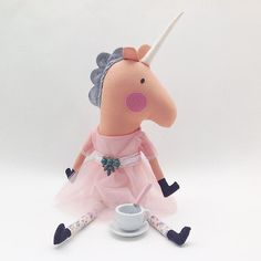 Enjoying morning coffee AND a no work Monday! It's going to be a magical day #monday #unicorn ohbabyseattle