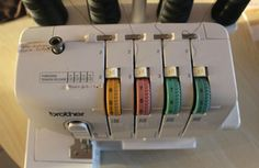 Taming his serger: my tips - Knitting 01 Diy Sewing Projects, Sewing Projects For Beginners, Sewing Hacks, Sewing Tutorials, Sewing Tips, Coin Couture, Couture Sewing, Techniques Couture, Easy Diy