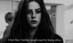 Bothering people by just living quotes alive dead black and white