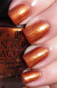 The PolishAholic: OPI Spring 2013 Euro Centrale Collection Swatches A Woman's Prague-ative. Nail Polish Art, Glitter Nail Polish, Nail Art, Cute Nails, Pretty Nails, Opi Nail Colors, Opi Nails, Nail Polishes, Nail Polish Collection