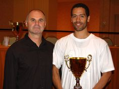 Master Scrima presentiment Alexander King with the Internal Grand Champion Award at the 2008 International Chinese Martial Arts Championship in Orlando, Florida USA