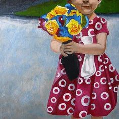 Flowers For Mum by Jacqui Simpson
