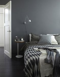 grey paint - bedroom, office, living room