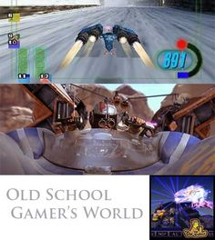 Old School Gamer's World: #StarWars Pod #Racing (BuzzChomp #Vlog) #classic #videogame