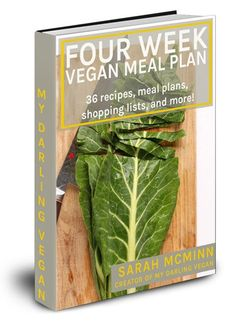 A 4 Week Vegan Meal Plan with 36 recipes, 4 weekly meal plans, 4 corresponding shopping lists, and much more for your vegan success! Vegan Starter Guide, Vegan Creme Brulee, Vegan Lemon Bars, Raw Carrot Cakes, Vegan Starters, Vegan Thanksgiving, Vegan Christmas, Christmas Recipes, Christmas Cookies