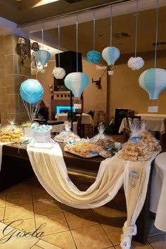 Shower Party, Baby Shower Parties, Wedding Decorations, Table Decorations, Baby Shower Games, Event Decor, Christening, Baby Boy, Bouquet
