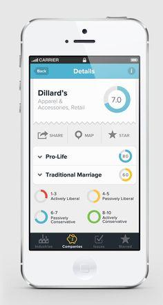 Scoring Star Mobile User Interface Design Inspiration