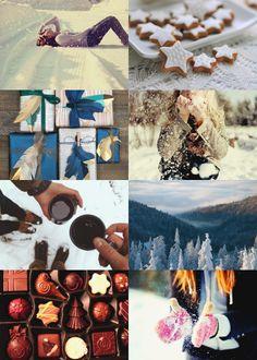 Winter Holidays Aesthetic: Ravenclaw House ( Gryffindor | Hufflepuff | Slytherin )