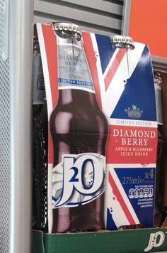 J2O Diamond Berry sleeve
