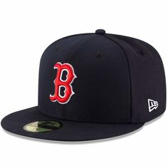 Boston Red Sox New Era Game Authentic Collection On-Field 59FIFTY Fitted Hat  - Navy bc129d5d82d