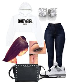 """""""#408"""" by o0dejah0o on Polyvore featuring NIKE and MICHAEL Michael Kors"""