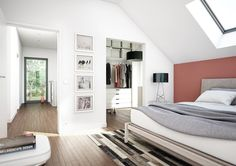 Concept-M 159 - Bien Zenker   HausbauDirekt Home Building Design, Building A House, Style At Home, Living Haus, Studio Layout, Small House Interior Design, Prefabricated Houses, Architecture Plan, House Floor Plans