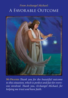 Oracle Card A Favorable Outcome | Doreen Virtue | official Angel Therapy Web site