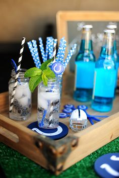 Are you Ready for Some Football? Tailgate themed Football Party Ideas - Entertain | Fun DIY Party Craft Ideas