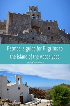 Patmos a beautiful quiet Greek island in the Aegean. A guide for pilgrims to the island of the Apocalypse and find the spiritual side of Greece. Greece Itinerary, Greece Travel, Travel Europe, Greek Islands Vacation, Greece Islands, European Destination, Small Island, Culture Travel, Island Life
