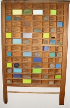 By The Sea Jewelry Ideas For Gl What Can I Do With It An Old Printers Type Tray Is Perfect Displaying Your Treasures
