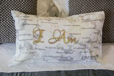 NAMES of GOD Pillow Cases - Finesse Studio Online Boutique English To Hebrew, Lord Of Hosts, Chocolate Gift Boxes, Most High, Names Of God, Light Of The World, King Of Kings, My Rock, Righteousness