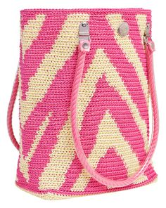 Pink Zebra #skippinggirl #tote #handbag #fashion #beachbag #beach #animalprint #zebra