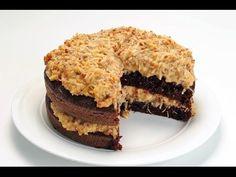Receta de Pastel Alemán de chocolate / Pastel de chocolate receta - YouTube