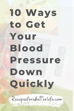 Want to lower blood pressure quickly and naturally? Learn 10 things you can do at home to lower your blood pressure instantly. Blood Pressure Lowering Foods, Blood Pressure Remedies, Lower Blood Pressure, Natural Blood Pressure Medicine, Vitamins For Blood Pressure, Reduce Blood Pressure Naturally, Natural Health Remedies, Natural Cures, Holistic Remedies