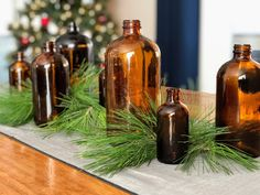 This listing is for one set of 4 amber apothecary bottles. Measurements from largest to smallest are approximately: high x diameter high x diameter high x diameter high x diameter All bottles are in great condition, free of any chips or cracks. Easy Crafts For Kids, Easy Diy Crafts, Kid Crafts, Christmas Decorations, Table Decorations, Holiday Decor, Amber Bottles, Apothecary Bottles, Holiday Tables