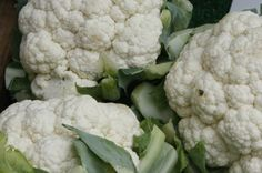 Cauliflower has potent cancer fighting compounds (indoles). #healthbenefits #healthy #organic #ingredients