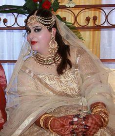 Kashmiri bridal makeup @ tara