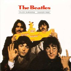 The Beatle's album artwork for their classic single record Yellow Submarine/Eleanor Rigby from 1966 displays Paul McCartney flashing the Divine King sign while John Lennon holds up the El Diablo hand gesture. George Harrison and Ringo Starr can be seen behind them lifting a miniature yellow submarine, an obvious reference to their hit song which metaphorically describes self isolation as well as a conscious disconnection from the outside world.