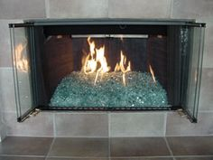 51 best fire glass fireplace images fireplace mantle diy ideas rh pinterest com gas fireplace inserts without glass front Crushed Glass Gas Fireplace Insert