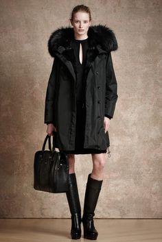 Belstaff Pre-Fall 2013 Fashion Show - Maud Welzen