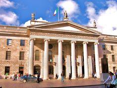 GPO Dublin, Taj Mahal, Louvre, Mansions, House Styles, City, Building, Travel, Home Decor