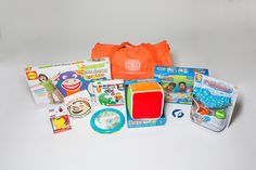 Developmental Duffle: Taking Care of Senses- carefully selected toys paired with professionally designed activities for sensory exploration and regulation.