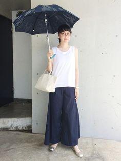 ZARAのタンクトップを使ったKanocoのコーディネートです。WEARはモデル・俳優・ショップスタッフなどの着こなしをチェックできるファッションコーディネートサイトです。