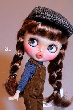 thePJdoll Garfield Baby Custom Blythe Doll/OOAK por ThePJdoll