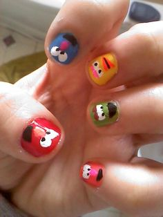 no, i'm thinking about painting my 2 yr old boys nails, but he would love if momma did this! :)
